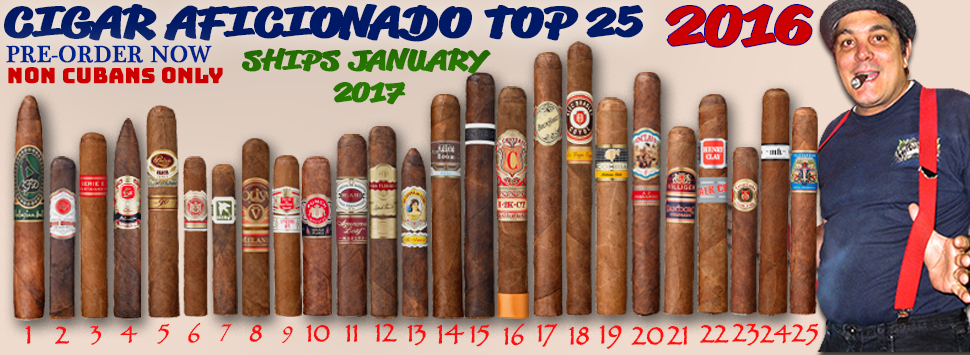 25 BEST CIGARS OF 2016 - CIGAR AFICIONADO