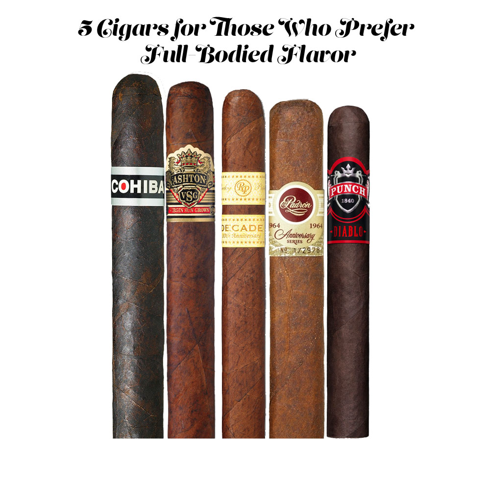 5 Cigars for Those Who Prefer Full-Bodied Flavor | Strongest Cigars