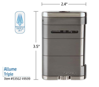 Xikar Allume Triple Jet Cigar Lighter
