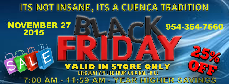 Black Friday celebration at Cuenca Cigars in Hollywood, Florida