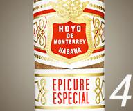 No. 4 Hoyo de Monterrey Epicure Especial Tubo