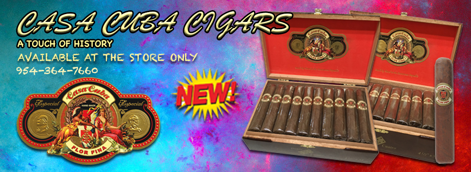 Casa Cuba Cigars available at Cuenca Cigars in Hollywood, Florida