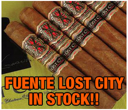 fuente fuente lost city cigars