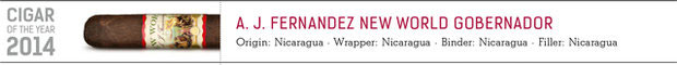Shop now A. J. Fernandez New World Governador cigars online