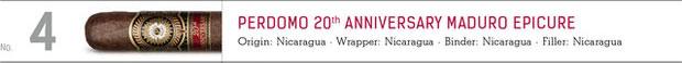 No. 4 Perdomo 20th Anniversary Maduro Epicure