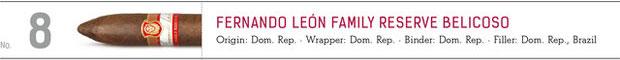 No. 8 Fernando Leon Family Reserve Belicoso