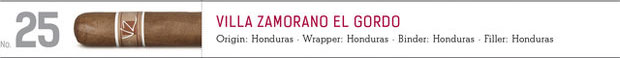 shop now Villa Zamorano El Gordo cigars online here