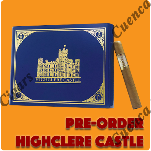 Pre Order Highclere Castle cigars